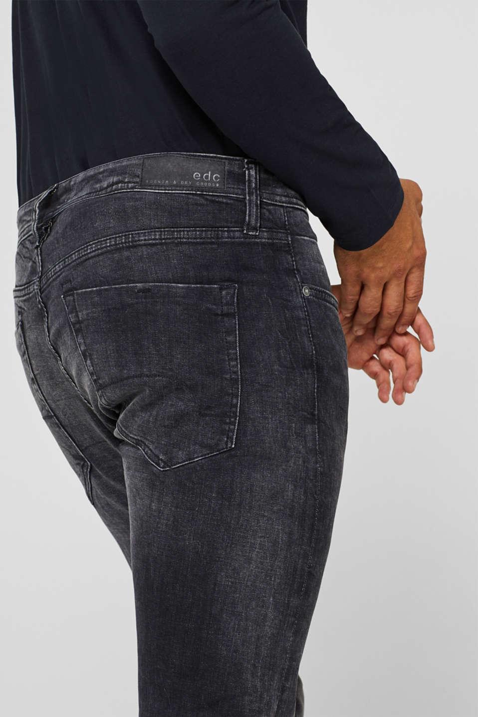Pants denim, BLACK MEDIUM WASH, detail image number 3