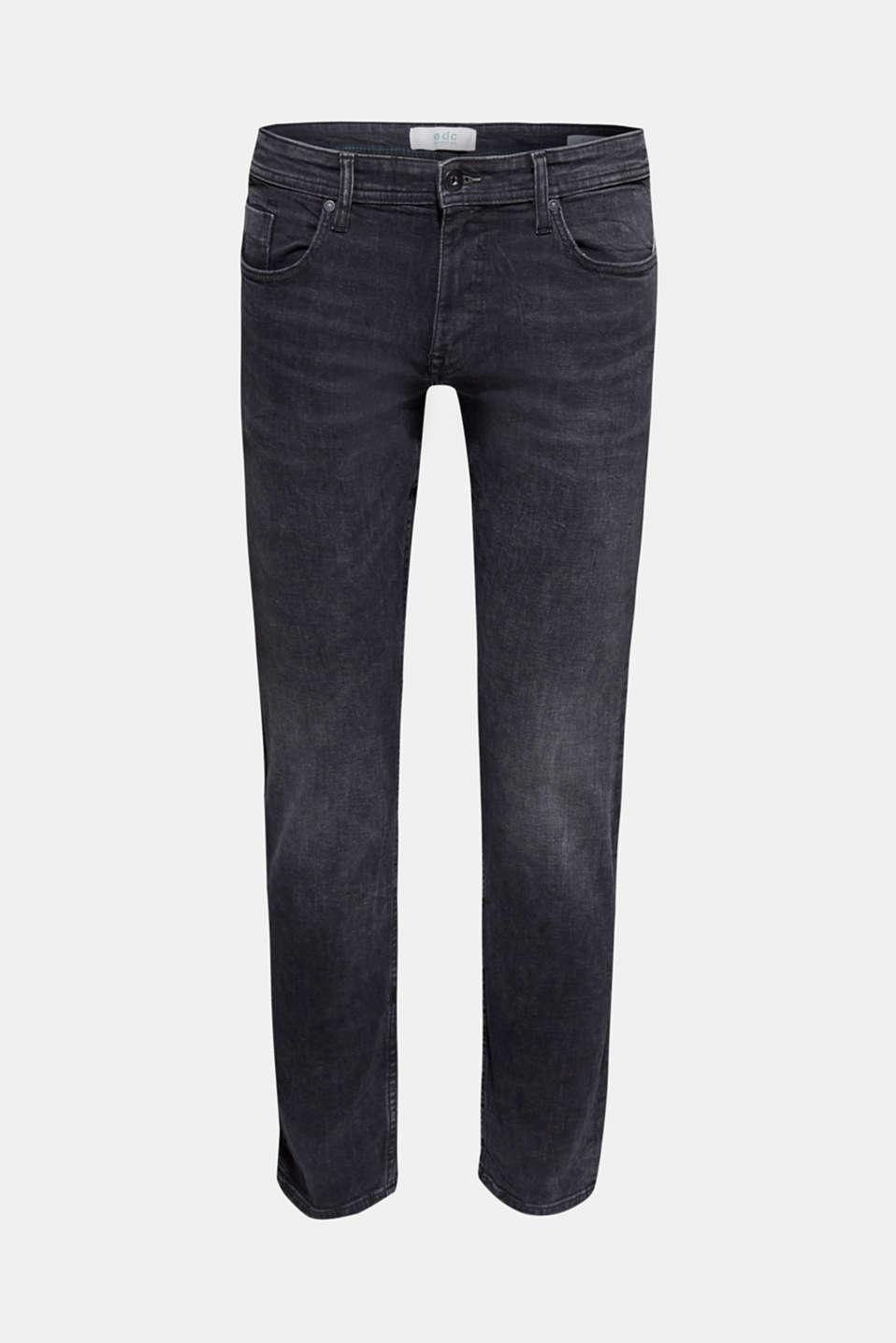 Pants denim, BLACK MEDIUM WASH, detail image number 5