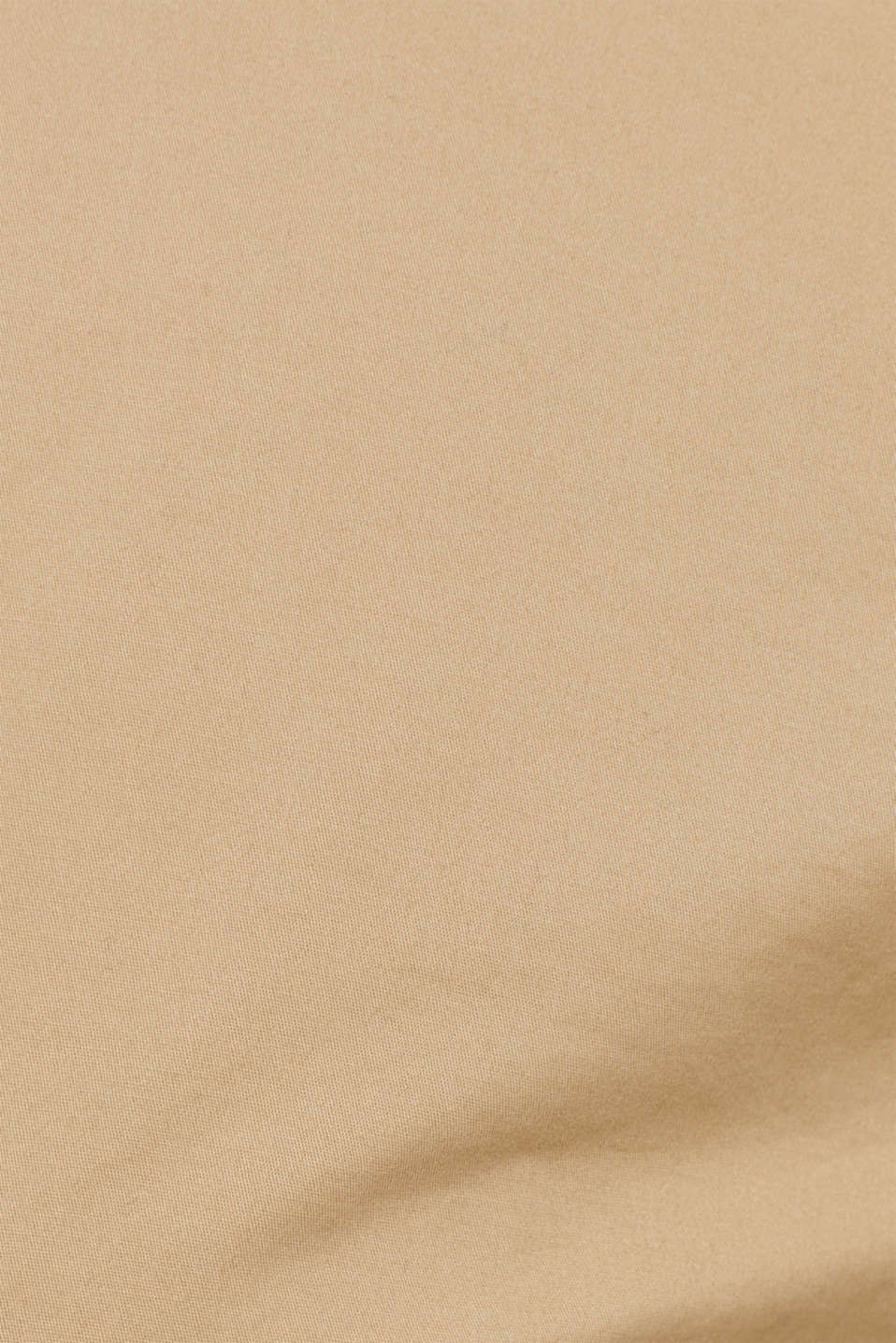 Stretch cotton cargo trousers, BEIGE, detail image number 4