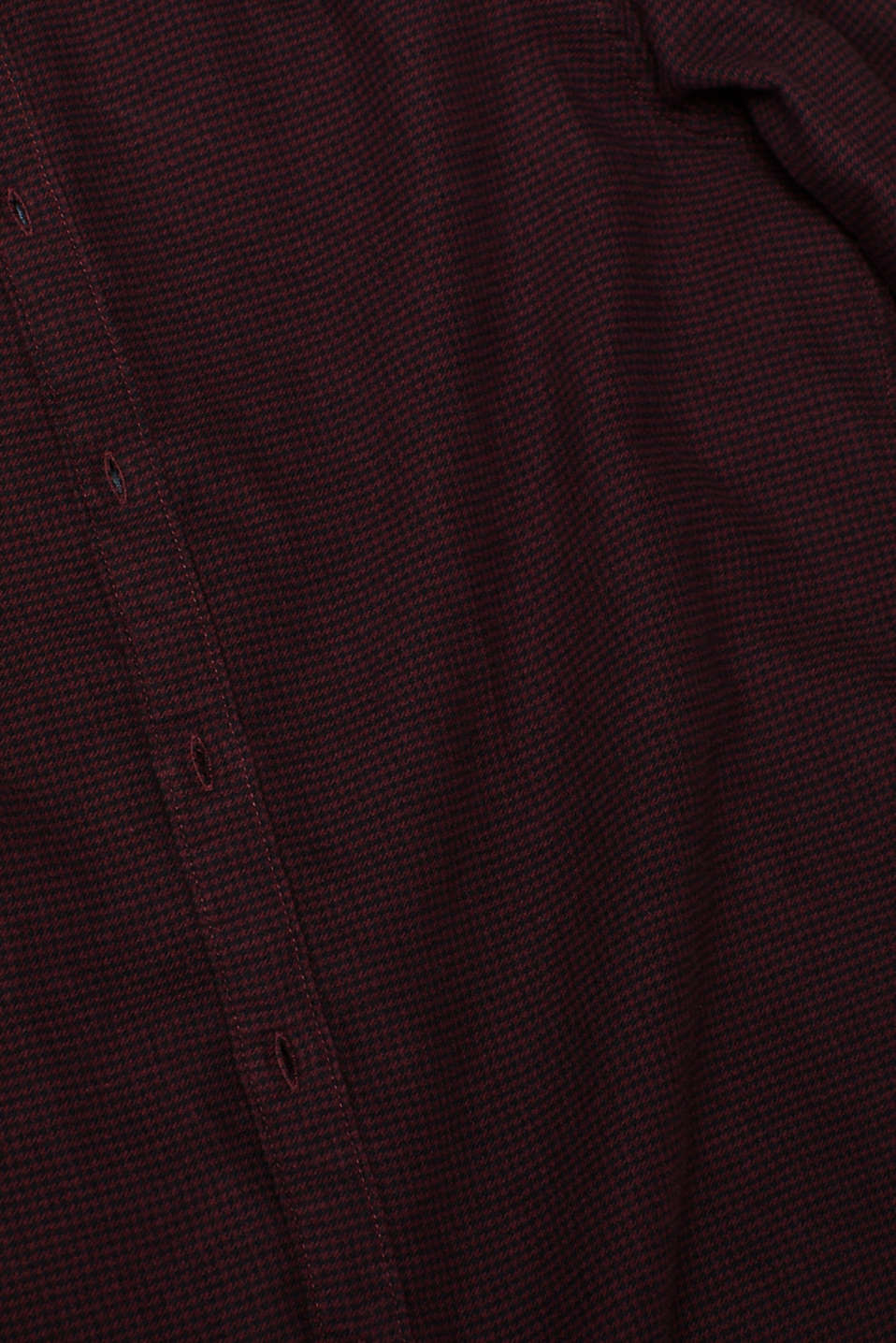 Shirts woven Slim fit, BORDEAUX RED, detail image number 4