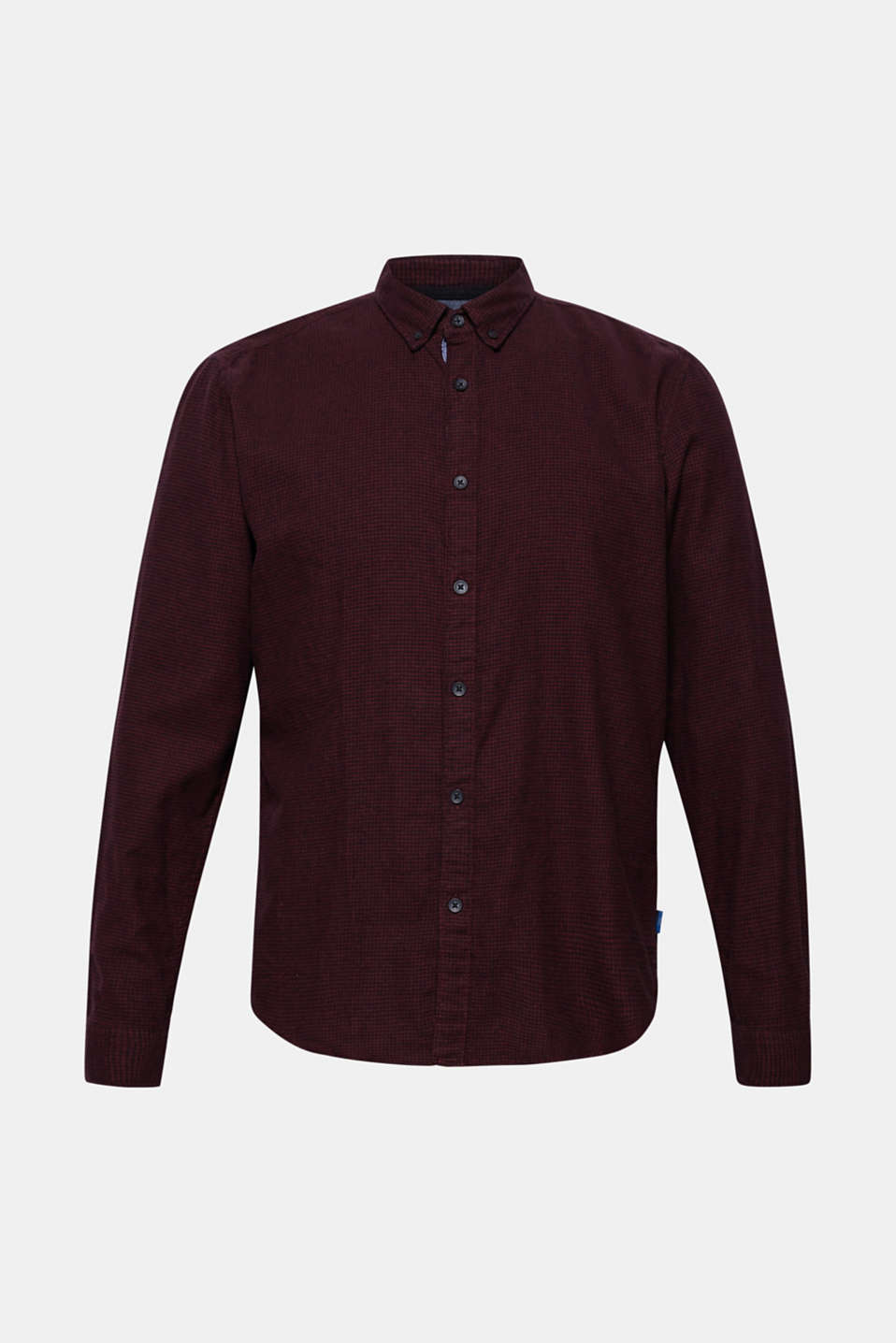 Shirts woven Slim fit, BORDEAUX RED, detail image number 6