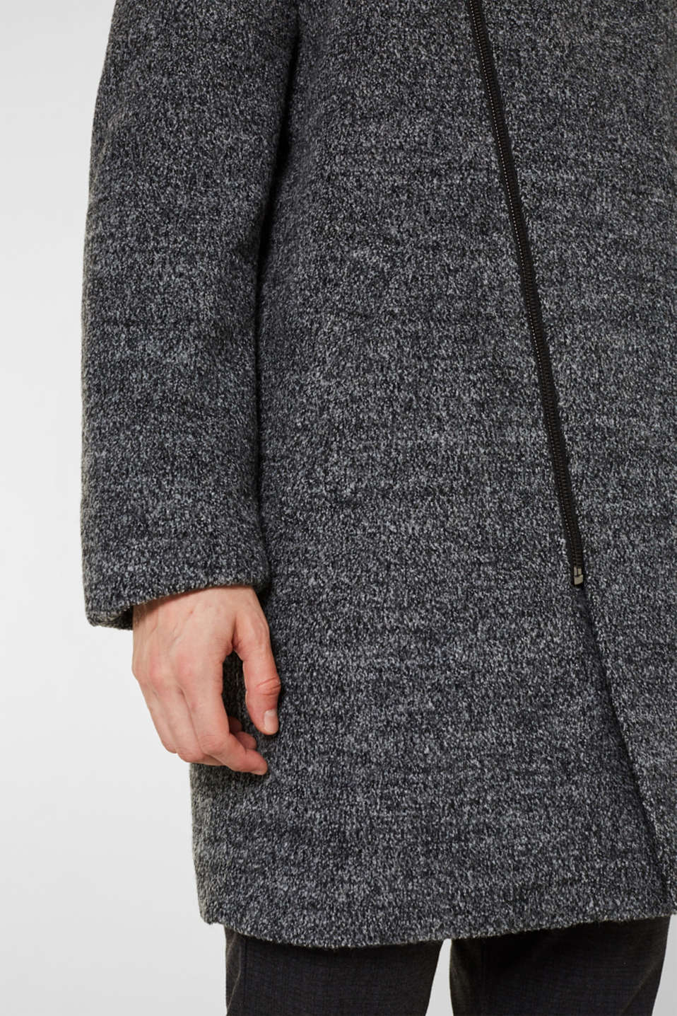 Coats woven, GREY, detail image number 2