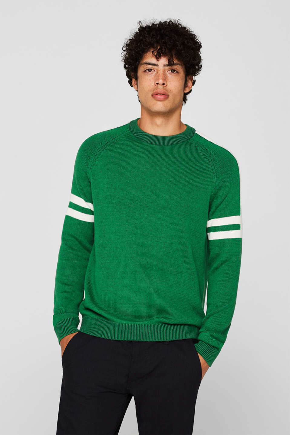 Sweaters, GREEN, detail image number 0