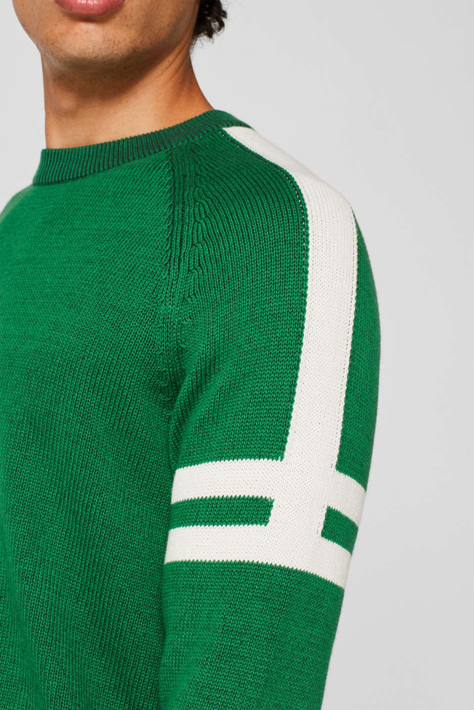 Sweaters, GREEN, detail image number 2