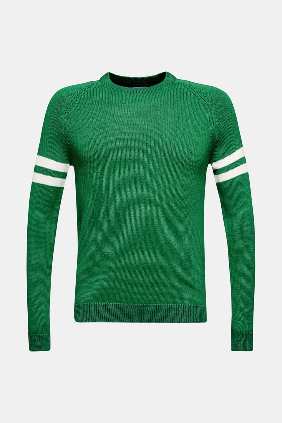 Sweaters, GREEN, detail image number 6