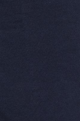 Colour block cardigan in 100% cotton