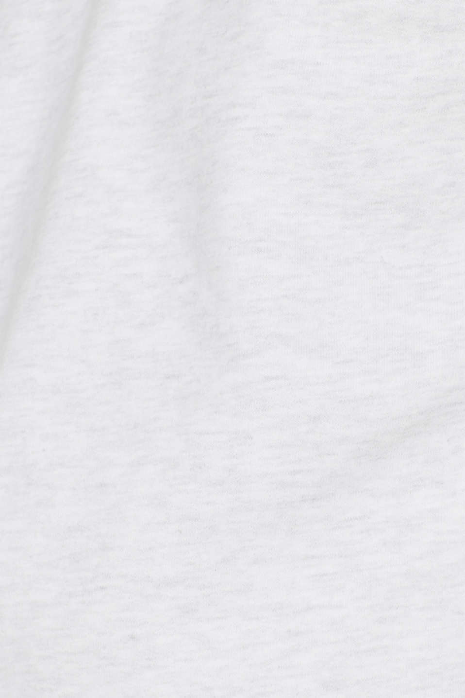 Sweatshirt in 100% cotton, OFF WHITE, detail image number 4