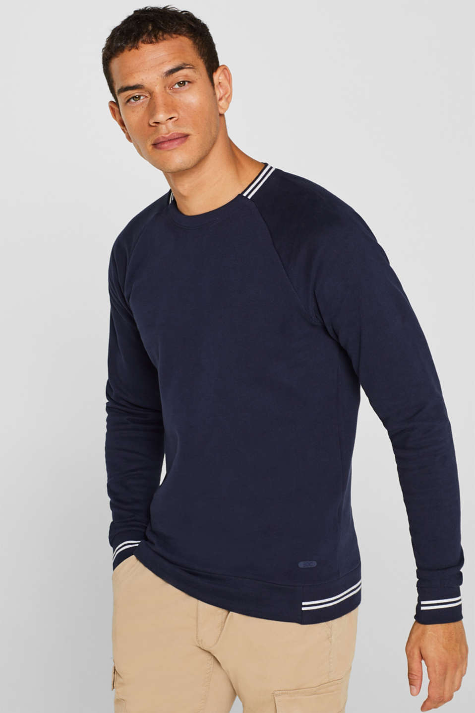 edc - Sweatshirt in 100% cotton