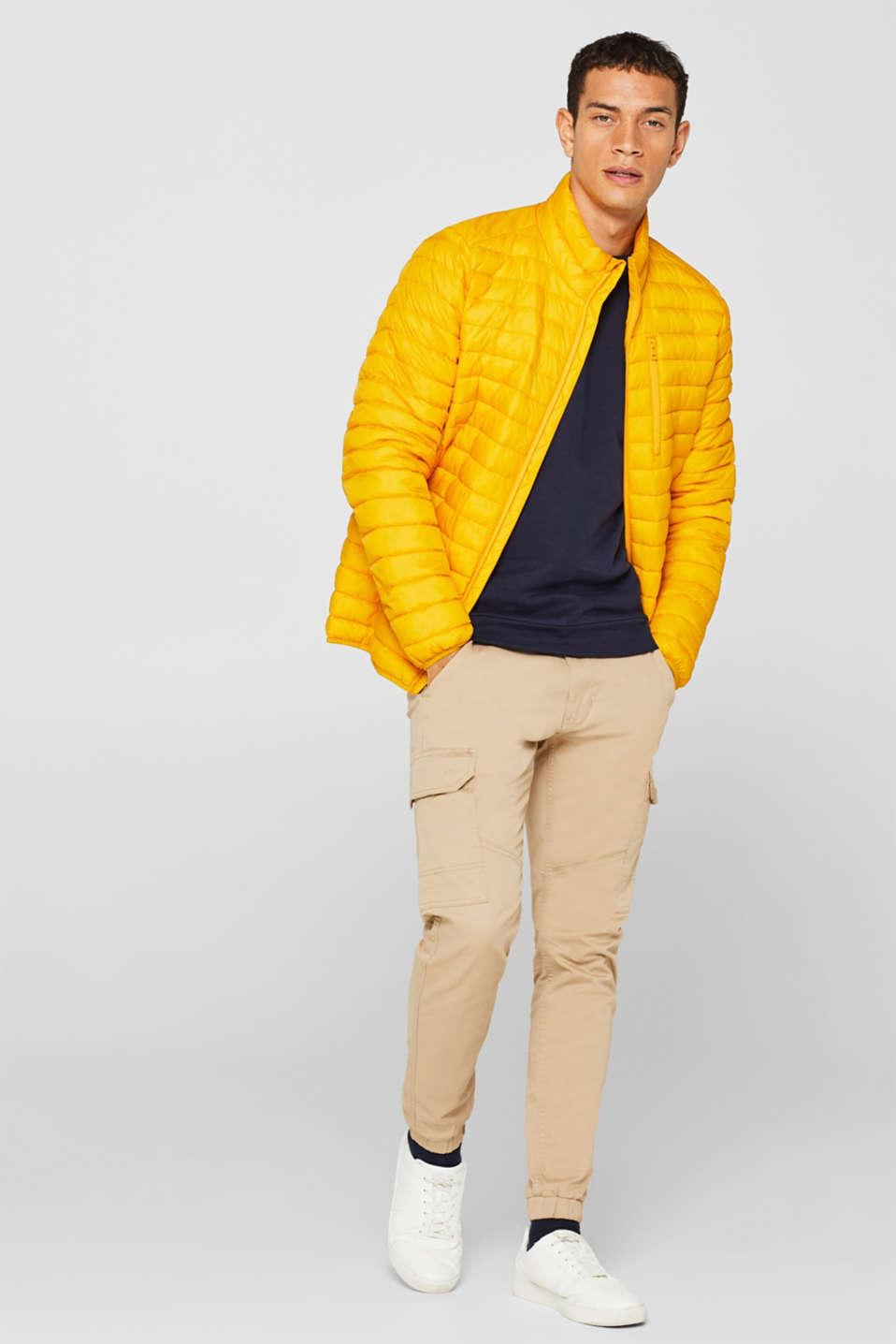 Sweatshirt in 100% cotton, NAVY, detail image number 1