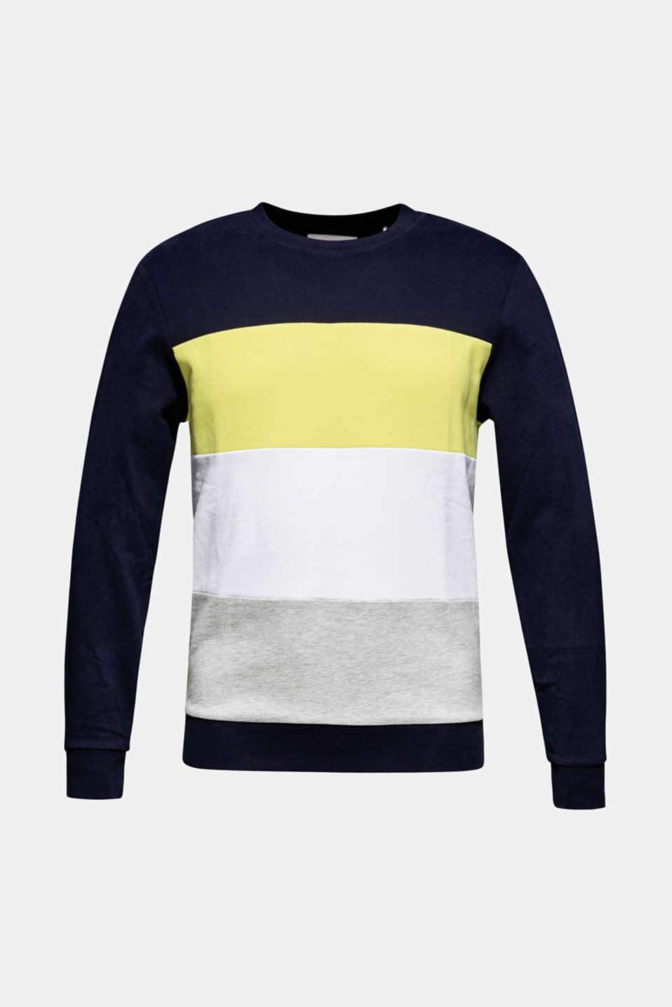 Sweatshirts, NAVY, detail image number 5
