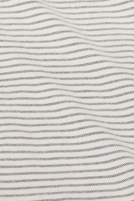 Striped piqué top made of 100% cotton