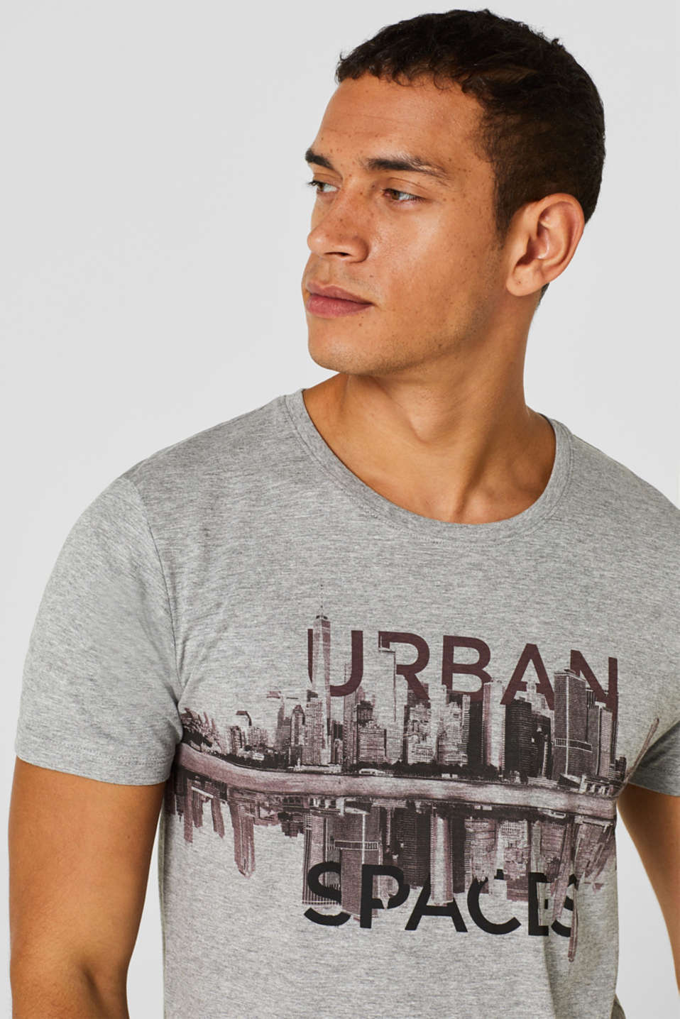 T-Shirts, GREY, detail image number 3