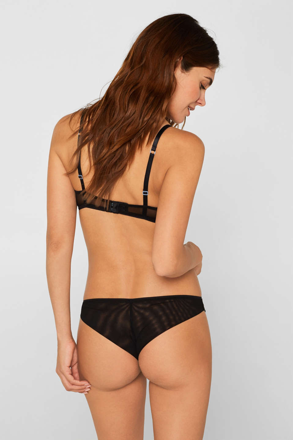 Hipster briefs with embroidery, BLACK, detail image number 2