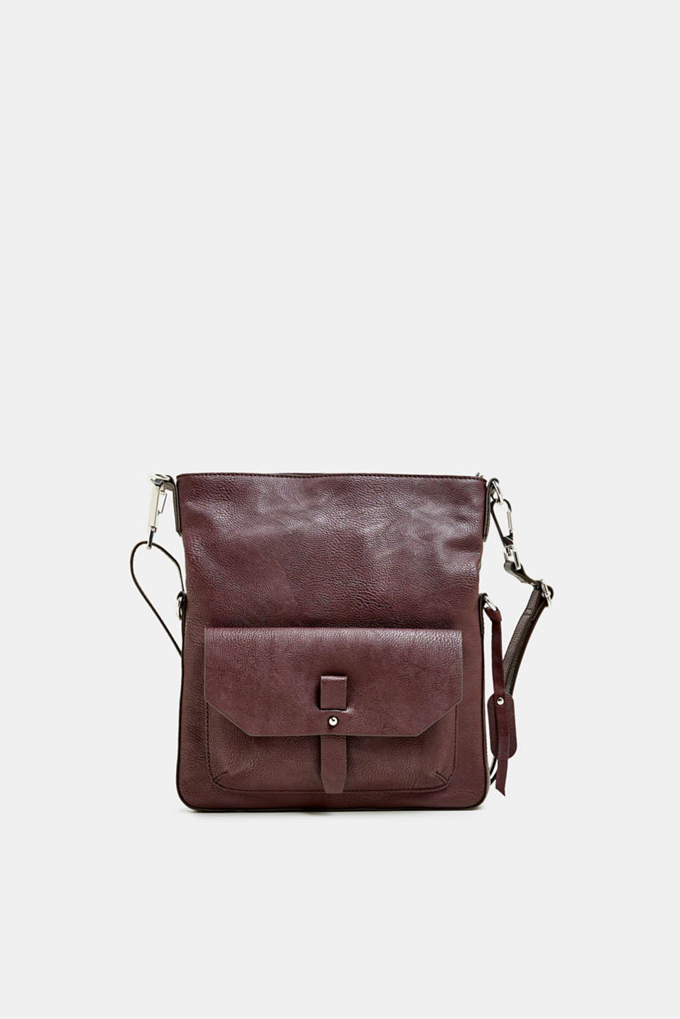 Esprit - Flap Over-Bag in Leder-Optik