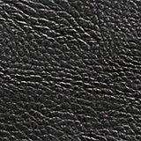 Adjustable faux leather shoulder bag, BLACK, swatch
