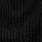 Blended wool: Knitted beanie, BLACK, swatch