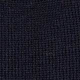 Blended wool: Knitted beanie, NAVY, swatch