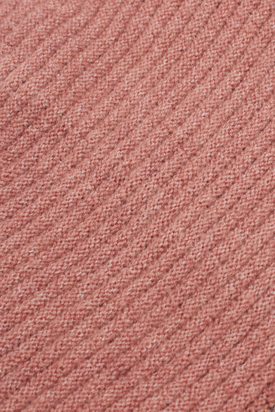 Blended wool: Beanie with textured stripes, MAUVE, detail image number 1