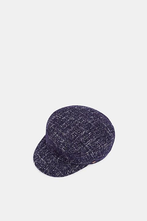 Tweed sailor's cap