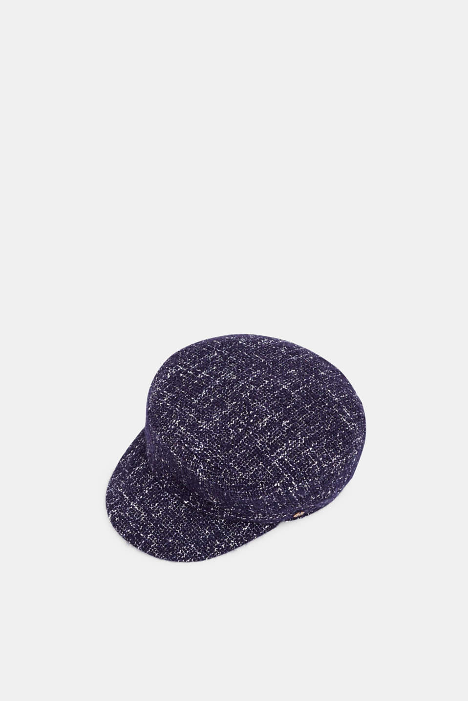 Esprit - Tweed sailor's cap