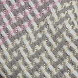 Woven scarf with stripes, GREY, swatch