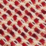 Woven scarf with stripes, BORDEAUX RED, swatch