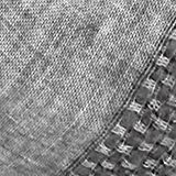 Scarf made of Italian yarn, MEDIUM GREY, swatch