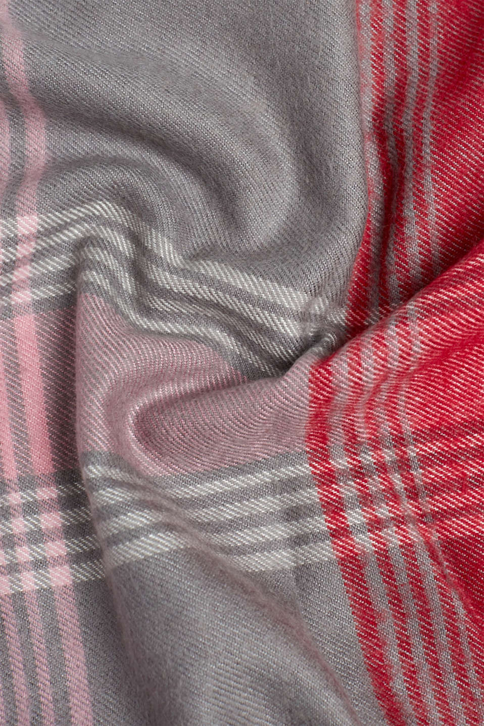 Scarf with LENZING™ ECOVERO™, GREY, detail image number 2