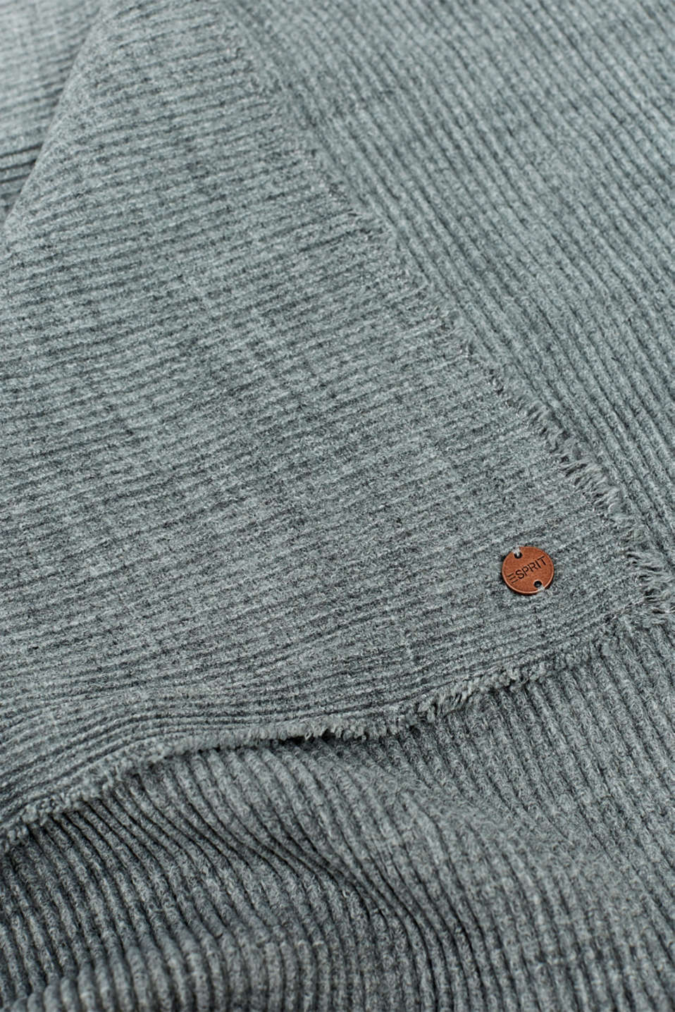 Shawls/Scarves, GREY, detail image number 2