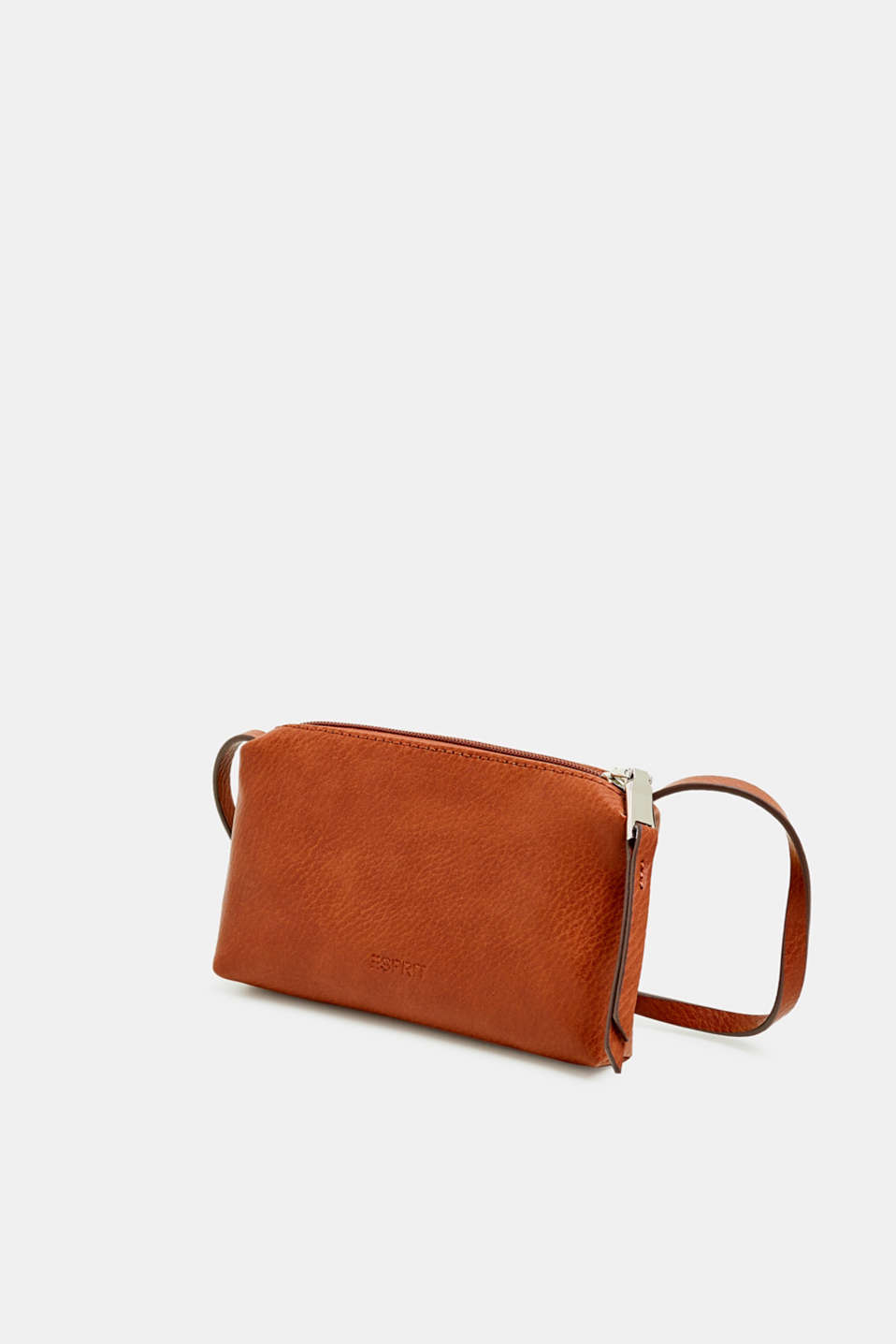 Faux leather mobile phone bag, RUST BROWN, detail image number 2