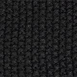 Knit cap with a texture, BLACK, swatch
