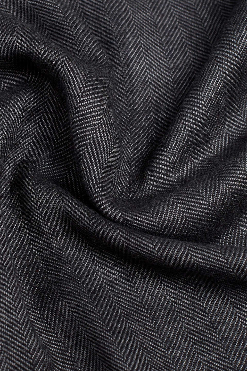 Shawls/Scarves, ANTHRACITE, detail image number 2