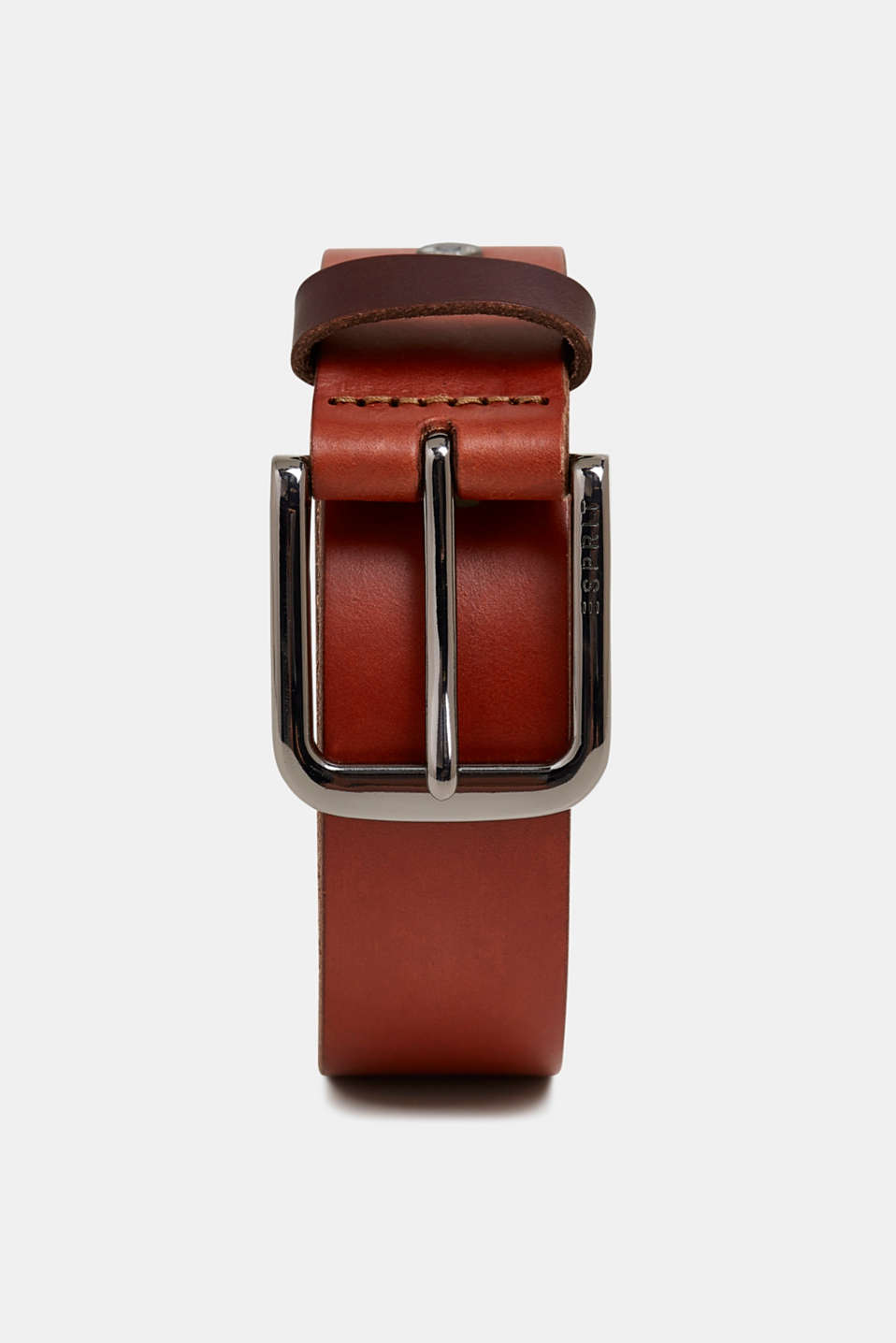 Leather belt, BROWN, detail image number 0