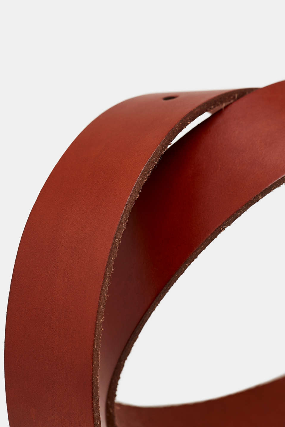 Leather belt, BROWN, detail image number 1