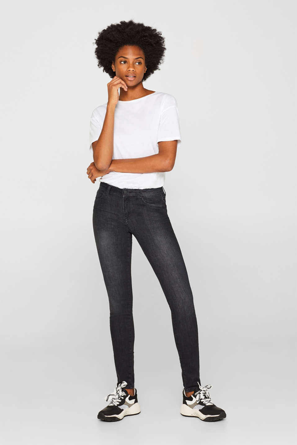 Esprit - Super-softe Stretch-Jeans
