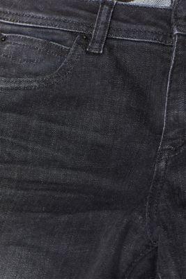 Super-comfortable stretch jeans, BLACK DARK WASH, detail