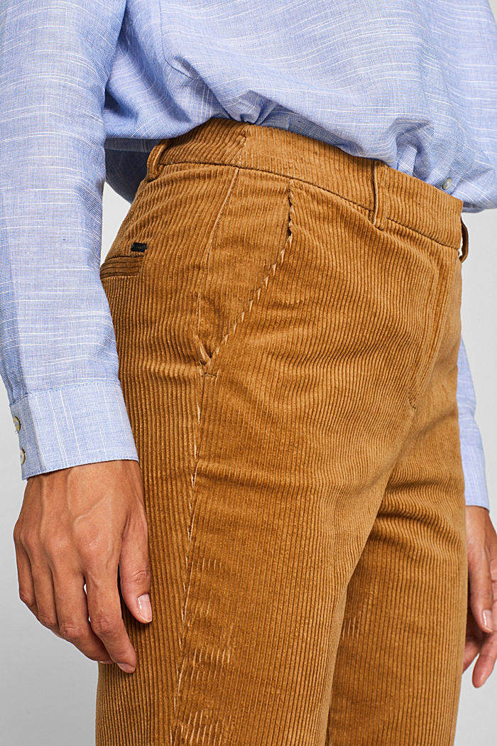 CORDUROY Mix + Match Cordhose, CAMEL, detail image number 2