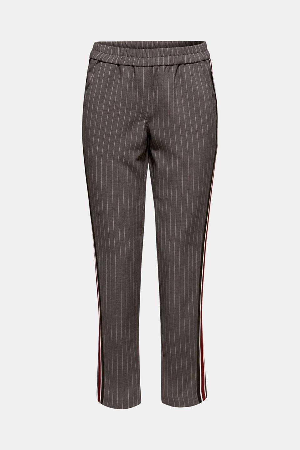Pants woven, DARK GREY, detail image number 7