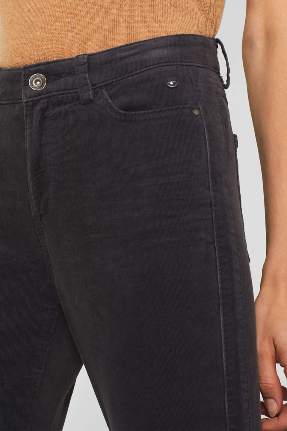 Pants woven, GREY, detail image number 2
