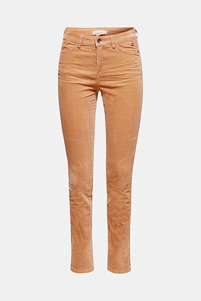 Stretch corduroy trousers, CAMEL, detail image number 7