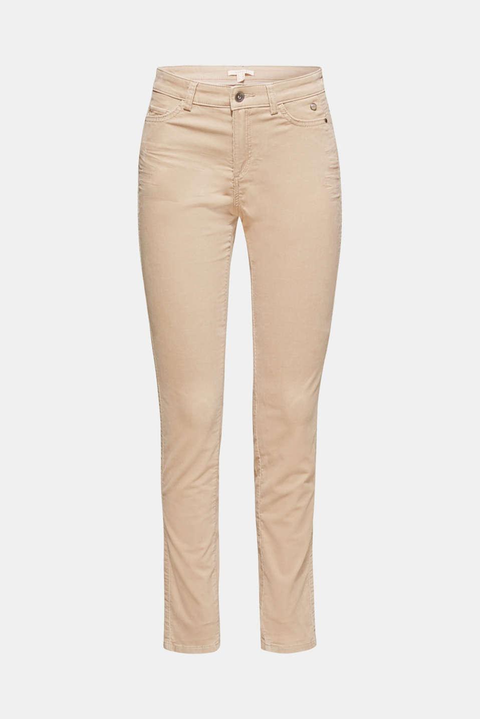 Pants woven, LIGHT BEIGE, detail image number 6