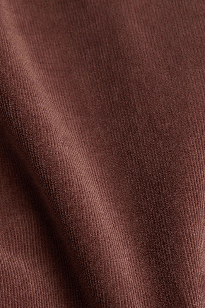 Stretch corduroy trousers, DARK MAUVE, detail image number 4