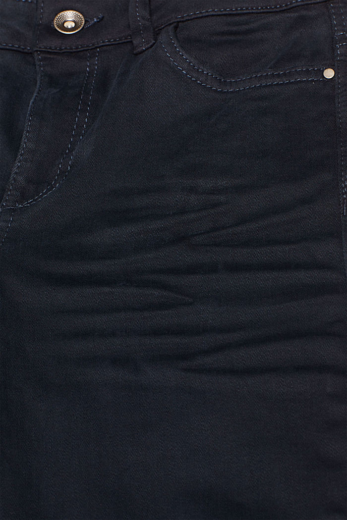 Shaping trousers with a washed finish, NAVY, detail image number 4
