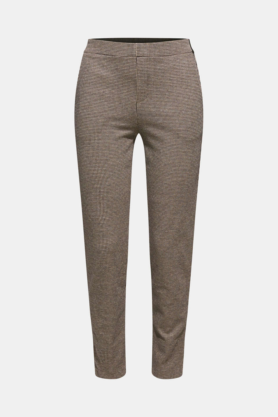 JERSEY SUIT mix + match stretch trousers, CAMEL, detail image number 7
