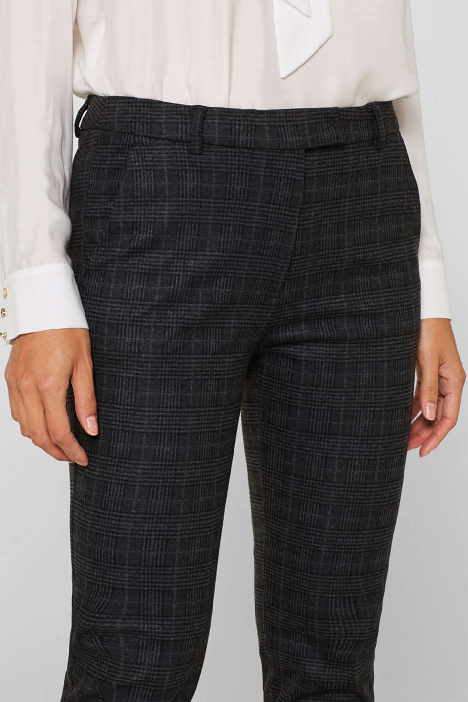 Pants woven, ANTHRACITE 2, detail image number 2