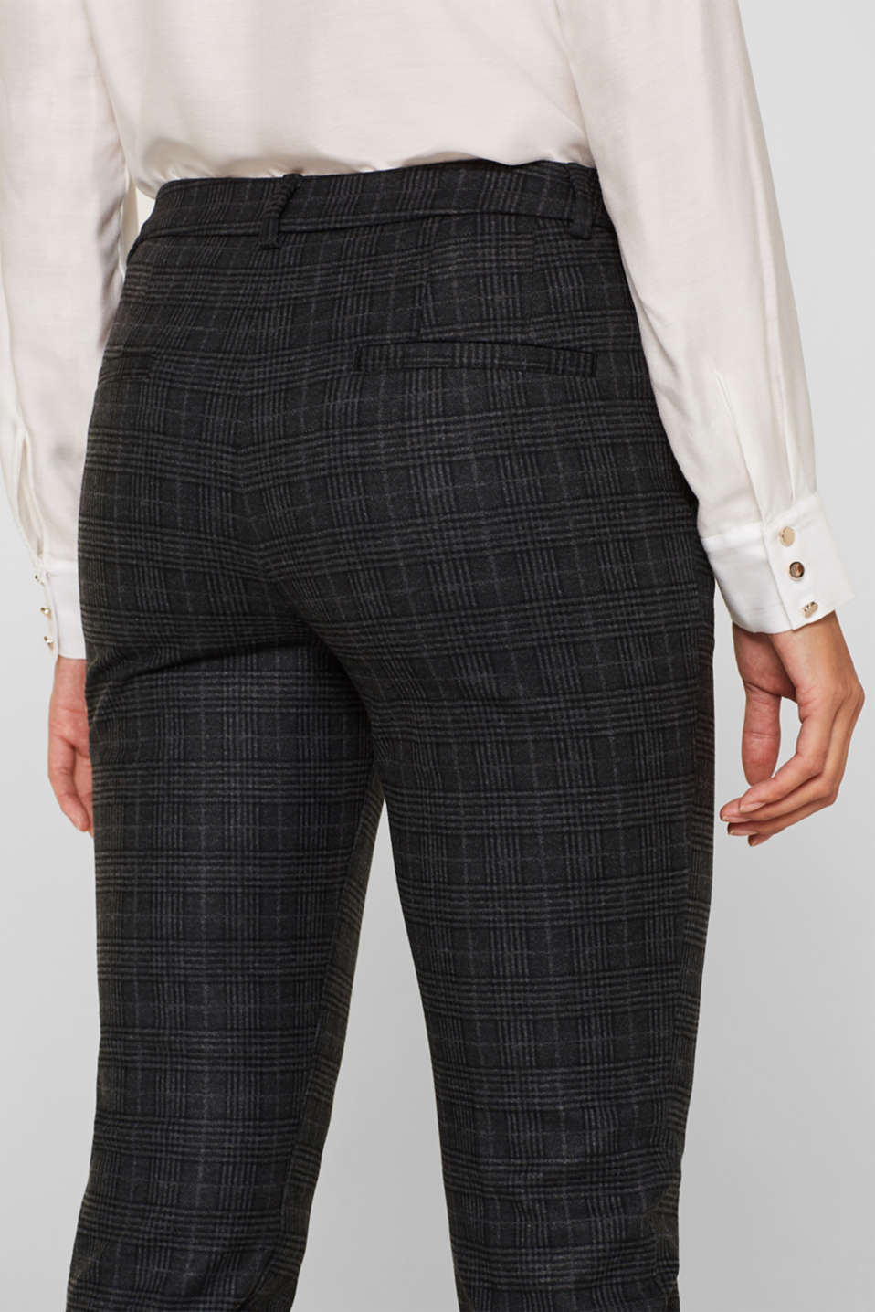 Pants woven, ANTHRACITE 2, detail image number 5
