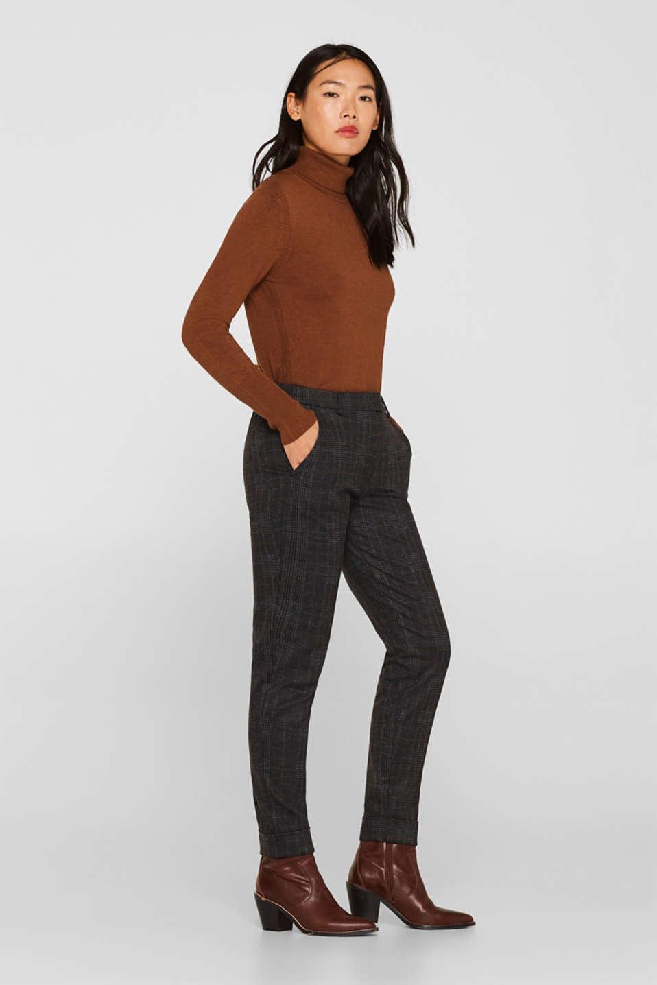 Pants woven, CINNAMON, detail image number 0
