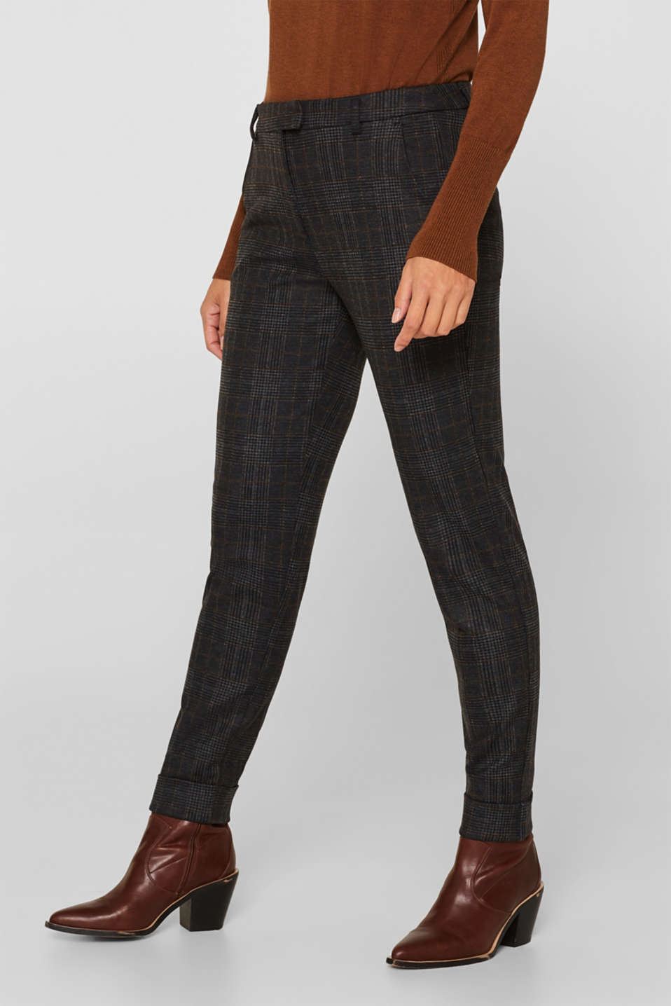 Pants woven, CINNAMON, detail image number 6