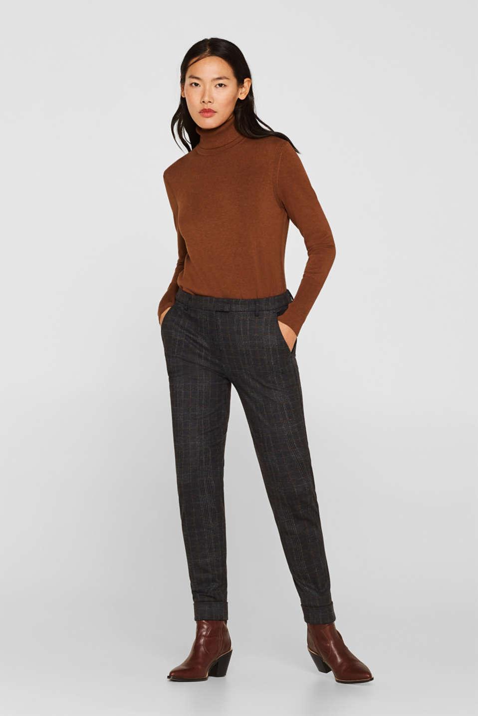 Pants woven, CINNAMON, detail image number 1