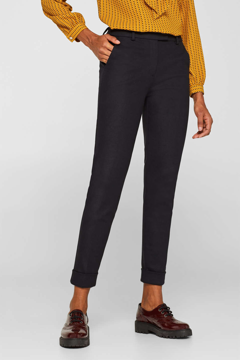 Pants woven, BLACK, detail image number 6